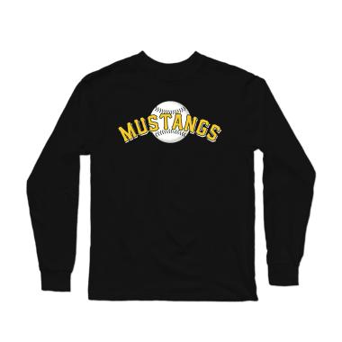 Mustangs Classic Baseball Longsleeve Shirt
