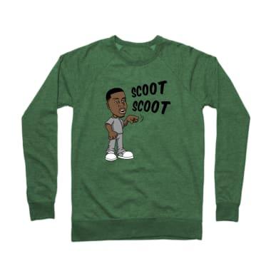 Scoot Scoot Crewneck Sweatshirt