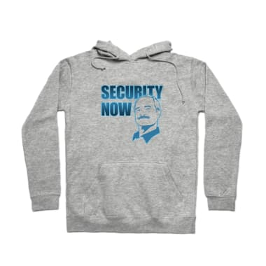 Security Now  Pullover Hoodie