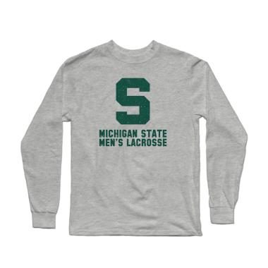 MSU Lacrosse Vintage Longsleeve Shirt