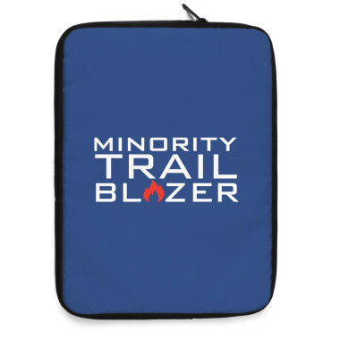 Minority Trail Blazer  Laptop Sleeve