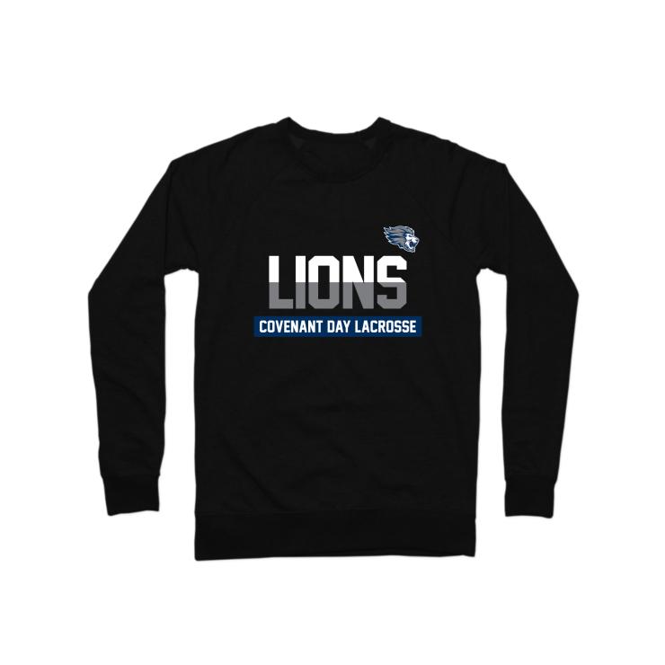 Covenant Day Lacrosse Crewneck Sweatshirt