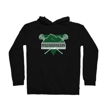 Mountaineers Lacrosse Triangle Pullover Hoodie
