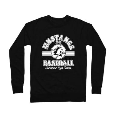 Mustangs 2018 Baseball Crewneck Sweatshirt