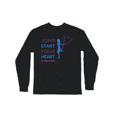 Jump Start Your Heart Long Sleeve