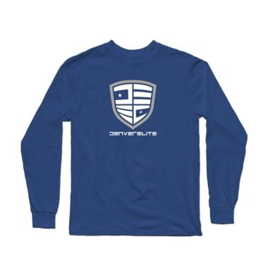 Denver Elite Blue Line Longsleeve Shirt