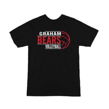 Graham Bears Volleyball CUSTOM Youth T-Shirt