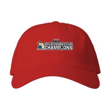 Riveters 2018 Isobel Cup Championship Baseball Style Hats
