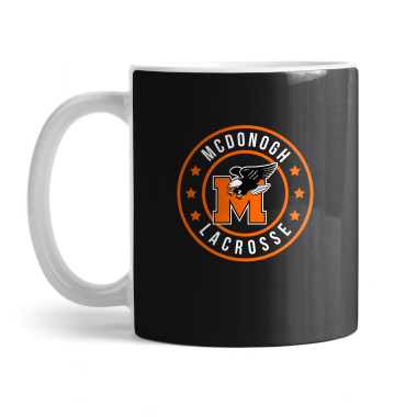 McDonogh Eagles Lax Badge Mug