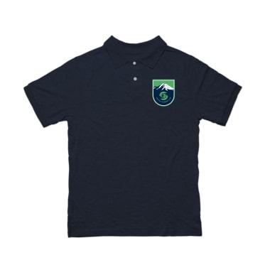 Seattle Lacrosse Club Badge Polo