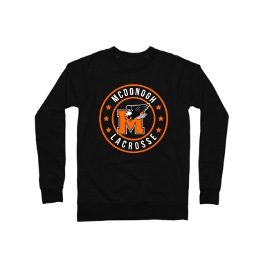 McDonogh Lax Badge Crewneck Sweatshirt