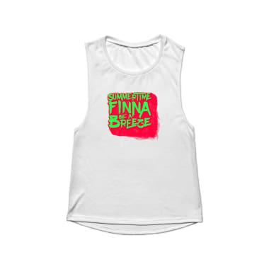 Summertime Finna Be A Breeze Tank Top