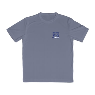 Israel Lacrosse Performance T-Shirt