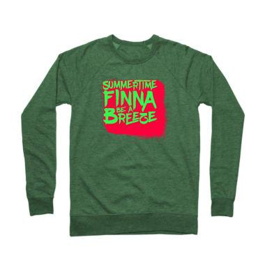 Summertime Finna Be A Breeze Crewneck Sweatshirt