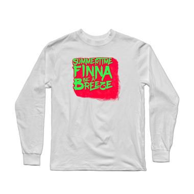 Summertime Finna Be A Breeze Longsleeve Shirt