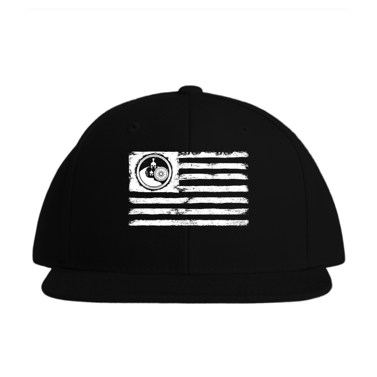 Fit Dad Nation Flag Baseball Style Hats