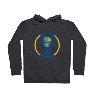 Division Champs Distressed Hoodie
