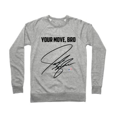 The Official JN Autograph Battle Crewneck Sweatshirt