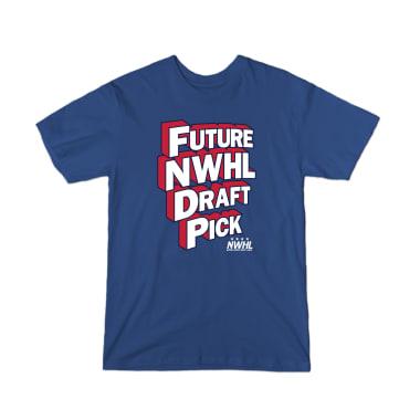 Future NWHL Draft Pick Youth T-Shirt
