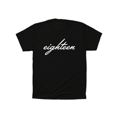 Eighteen Cursive T-Shirt