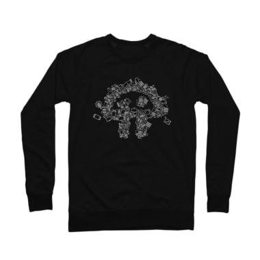 Twit Gadgets Crewneck Sweatshirt