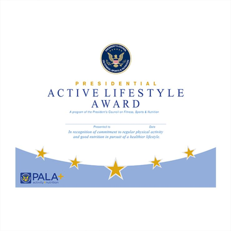 PALA Certificate