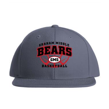 GMS Basketball Baseball Style Hats