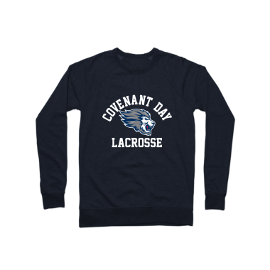 Covenant Day Lacrosse Crewneck Sweatshirt