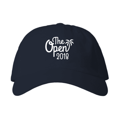 The Open 2018 Baseball Style Hats
