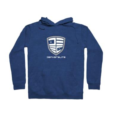 Denver Elite Blue Line Pullover Hoodie