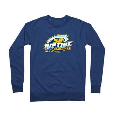 SB Riptide Lacrosse (Vertical) Crewneck Sweatshirt
