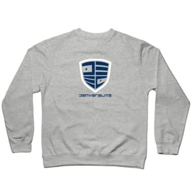 Denver Elite Grey Line Crewneck Sweatshirt
