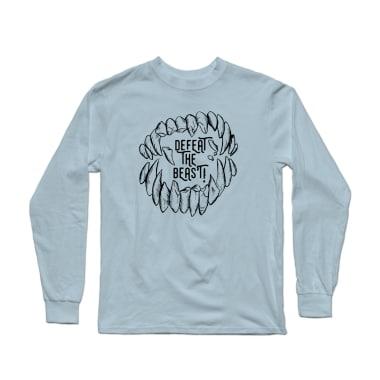 Defeat The Beast (Black) Longsleeve Shirt