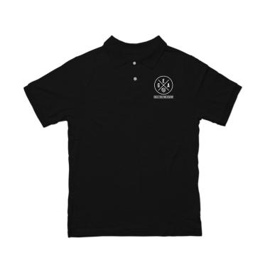 GEA White Logo Polo