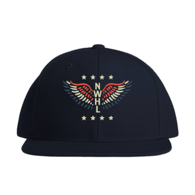 NWHL USA Wings Baseball Style Hats
