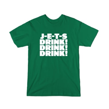 J-E-T-S! Drink! Drink! Drink! T-Shirt