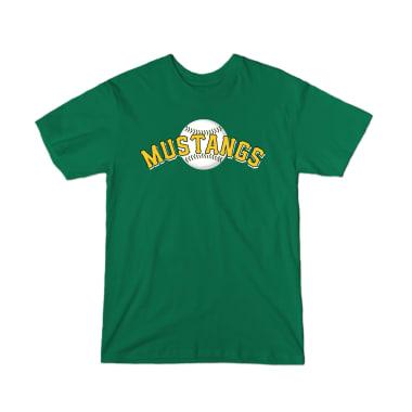 Mustangs Classic Baseball T-Shirt