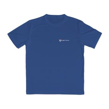 Orange Globe Performance T-Shirt