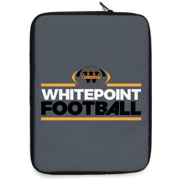 Whitepoint Football Varsity Laptop Sleeve