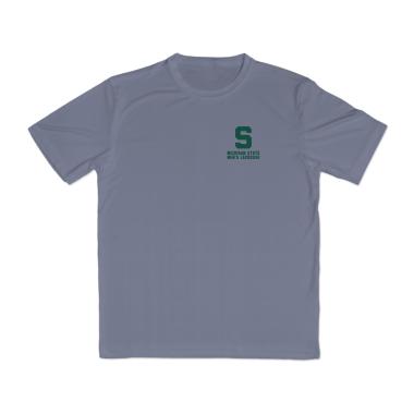 MSU Lacrosse Vintage Performance T-Shirt