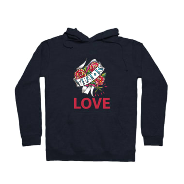 WHAT IS LOVE Pullover Hoodie