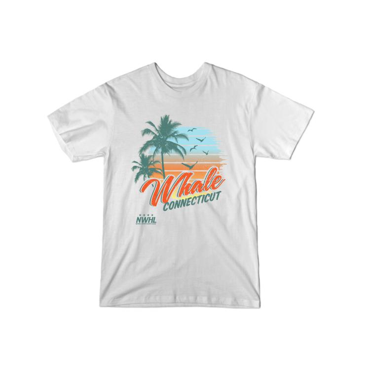 Connecticut Whale Summer T-Shirt