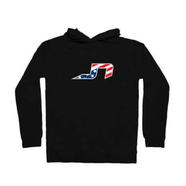 JN Stars and Stripes Plain Pullover Hoodie