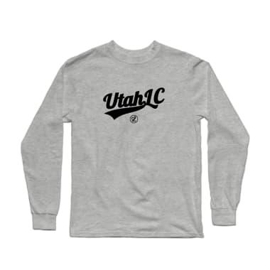 Utah Logo Black Longsleeve Shirt