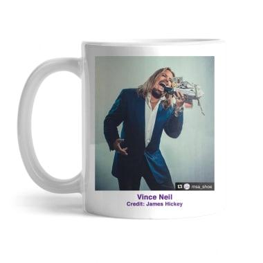 Vince Neil x MSA Shoe Mug