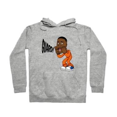 Guard (Orange) Pullover Hoodie
