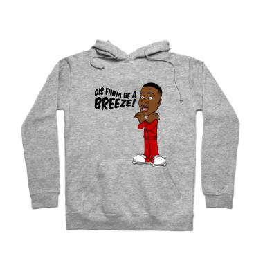 Dis Finna Be A Breeze Pullover Hoodie