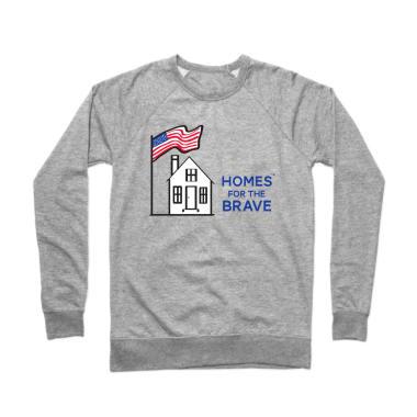 Homes For The Brave Crewneck Sweatshirt