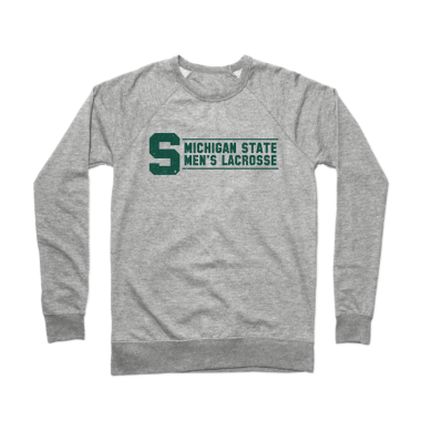 MSU Lacrosse Classic Crewneck Sweatshirt