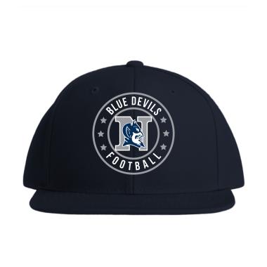 Blue Devils Football Baseball Style Hats